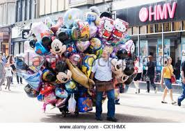 parade balloons for sale characters balloons stock photo 106964322 alamy