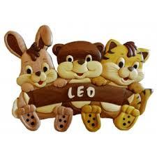 pr駭om bois porte chambre plaque de porte prénom en bois pour chambre enfant modèle lapin