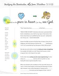 beatitudes graphics worksheets u0026 curriculum for sunday and
