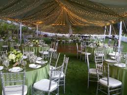 twinkle light filled wedding tent stuart event rentals