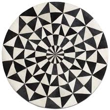 Round Rugs Modern by 150cm Diameter Leather Contemporary Round Rugs Quality From