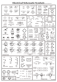 electronics schematic symbols wiring diagram components