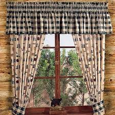 deer curtains shop everything log homes rustic curtains and drapes