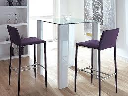 conforama table haute cuisine table haute a manger cool table a manger en verre conforama