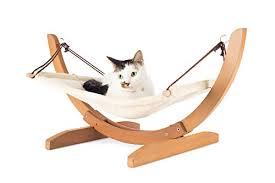 luxury cat hammock u2013 large soft plush bed 24x16in comfortably