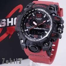Jam Tangan G Shock jual g shock gwg 1000 merah jam tangan bagus harga termurah