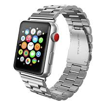 butterfly link bracelet images Swees apple watch band 42mm stainless steel iwatch jpg
