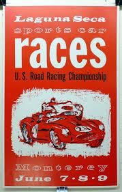 porsche racing poster 1960 u0027s