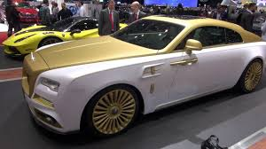 roll royce brown mansory rolls royce wraith palm edition nr 999 geneva 2016 youtube