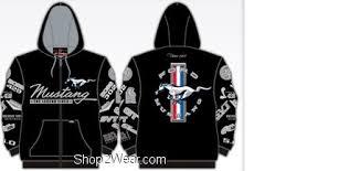 mustang hoodie shop2wear com shopping the best deals on nascar