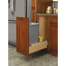 Kitchen Cabinet Trash Can Pull Out Pull Out Trash Cans Ooferto