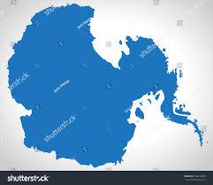 Map Of Antarctica Map Antarctica Stock Vector 390196330 Shutterstock