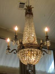 Vintage Crystal Chandelier Parts Antique Crystal Chandelier Parts Chandeliers Photo Ebay For Sale
