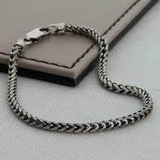 man chain bracelet images Peaceful design mens chain bracelet silver men cuban link jpg