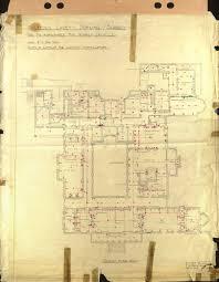 polesden lacey electrical plan 1935 ground floor 933 1200