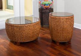 key largo round end table sienna finish alexander u0026 sheridan