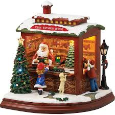 roman musical light up santa u0027s train shop decoration collectible