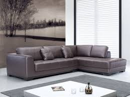 Brown Leather L Shaped Sofa Sectional Sofa With Chaise Leather L Shaped Inside Remodel 6