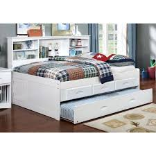 bookcase full captain bookcase daybed with 3 drawers
