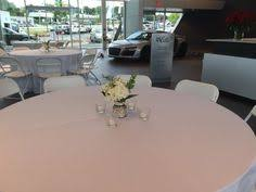 event rentals atlanta corporate luncheon atlanta rental white black resin chair