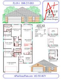 house plan 1848 215 hsd traditional front elevation 1848 sqft