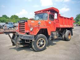 mack dump truck 1973 mack rd685p single axle dump truck for sale by arthur trovei
