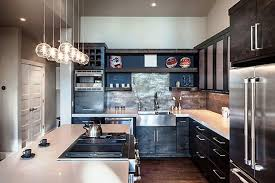 White Distressed Kitchen Cabinets  Awesome Modern Rustic White - Rustic modern kitchen cabinets