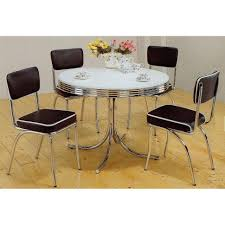kitchen magnificent retro chrome kitchen table and chairs oak