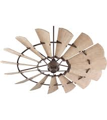 outdoor windmill ceiling fan quorum 197215 86 windmill 72 inch oiled bronze with weathered oak