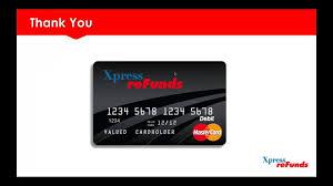 top prepaid debit cards xr card webinar offering xpress refunds prepaid debit card in 2018