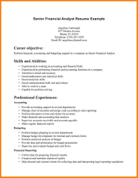 financial analyst resume exles domain knowledge in resume resume for study
