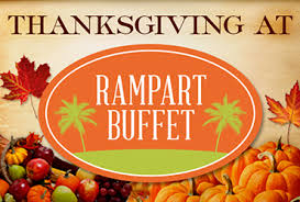 thanksgiving dinner rart casino vegas event