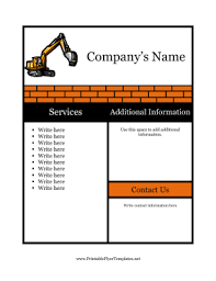 sample flyer for construction png