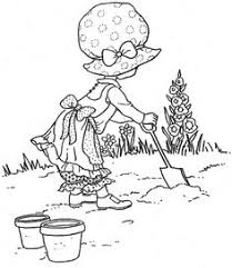 sarah kay coloring pages holly hobbie flower