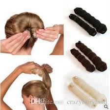snap hair 2017 hot buns sponge hair styling donut bun maker magic former