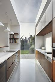 galley kitchen extension ideas the 25 best skylights ideas on