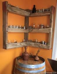 pallet corner shelf plans corner shelf wood pallets and pallets