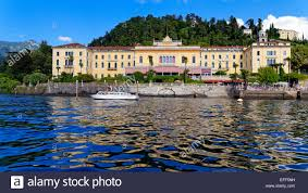 grand hotel villa serbelloni bellagio lake como italy stock
