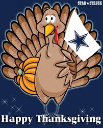 happy thanksgiving cowboys fans lone struck