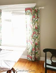 easy tab top curtain panels chaotically creative