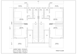 row house plans kalpak developers u2013 row house floor plans