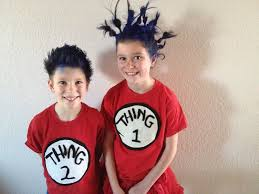 thing 1 u0026 thing 2 halloween costumes easy halloween costume thing 1 and thing 2 tutorial halloween
