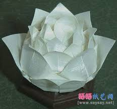 Lotus Blossom Origami - origami lotus do origami