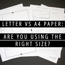 print cover letter on resume paper letter vs a4 paper are you using the right size