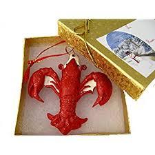 crawfish decorations crawfish fleur de lis ornament new orleans crayfish