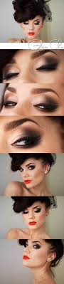 brown smokey eye special occasion makeup