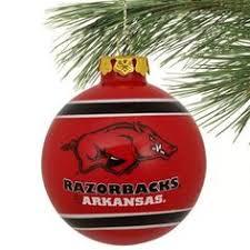 arkansas razorbacks ornaments by snhandmade on etsy 9 95 go