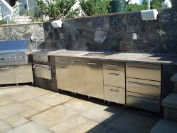 Outdoor Kitchen Cabinet Plans Outdoor Kitchen Design Plans Custom Stainless Steel Bbq And Gas