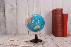 Small Desk Globe Small Globe Vintage Globe World Globe Desk Globe Earth