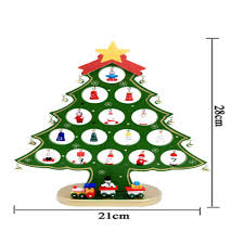 compare prices on desktop decoration christmas tree wood online